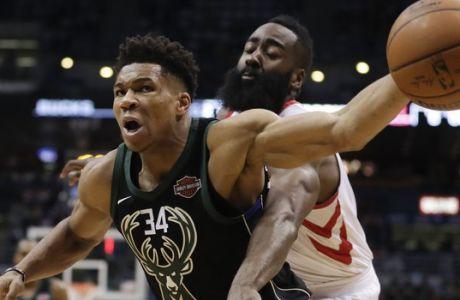 MVP: Οι NBAers προτιμούν τον Χάρντεν από τον Αντετοκούνμπο