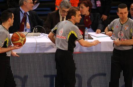 Οι πέντε υποψήφιοι διαιτητές για τον πέμπτο τελικό