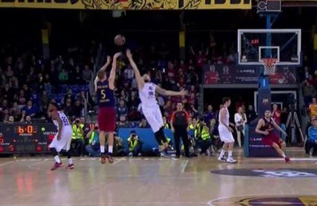 VΙDEO: Ντόλμαν: Ο άνθρωπος που σκόραρε 5 πόντους σε 4,6 δεύτερα