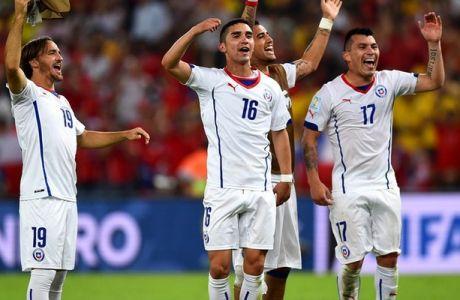 ΑΝΑΤΡΙΧΙΛΑ: Το Σαντιάγκο στο δεύτερο γκολ της Χιλής επί της Ισπανίας