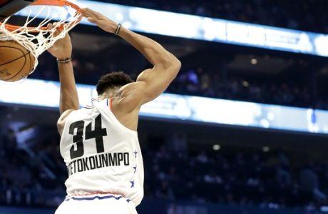 Γιάννης, Bojangles και η ασίστ του Τζόρνταν: Ζώντας το NBA All-Star Weekend από το παρκέ