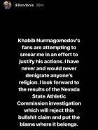 O Vladimir Putin θα έκανε ό,τι και ο Khabib Nurmagomedov