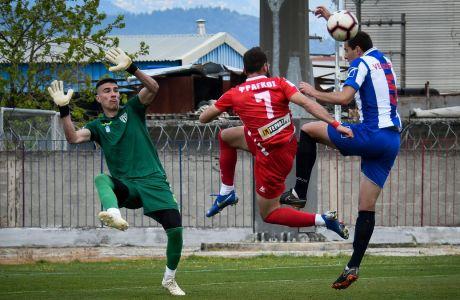 FOOTBALL LEAGUE // ΝΠΣ ΒΟΛΟΣ - ΑΙΓΙΝΙΑΚΟΣ (EUROKINISSI)