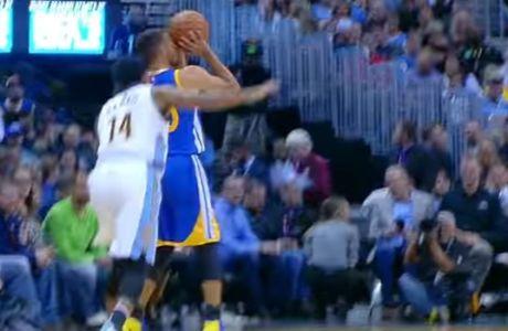 """""""Δαιμονισμένος"""" και πάλι ο Curry!"""
