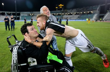 06/05/2017 PAOK Vs AEK for Greek Cup season 2016-17, in Panthessaliko Stadium, in Volos - Greece  Photo by: Georgia Panagopoulou / Tourette Photography
