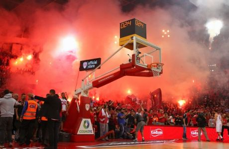 ÅÕÑÙËÉÃÊÁ / ÐËÅÉ ÏÖ / ÏÓÖÐ - ÁÍÁÍÔÏËÏÕ ÅÖÅÓ / EUROLEAGUE / PLAY OFF / OLYMPIAKOS - ANADOLU EFES (ÊÙÓÔÁÓ ÌÁÊÑÕÄÇÌÁÓ / Eurokinissi Sports)