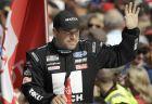 Ο Ράιαν Νιούμαν κατά τη διάρκεια της παρουσίασης των οδηγών πριν από το Daytona 500