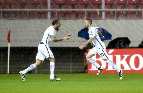 """Τα γκολ της νίκης της Εθνικής από τον """"Sport24 Radio 103,3"""""""