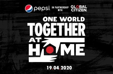 Η Pepsi συμμετέχει στην παγκόσμια πρωτοβουλία Global Citizen, One World: Together At home