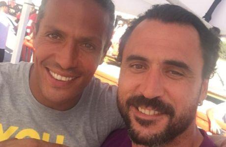 """""""Κιτρινόμαυρη"""" selfie με Μπρούνο Άλβες και Αλμέιδα"""