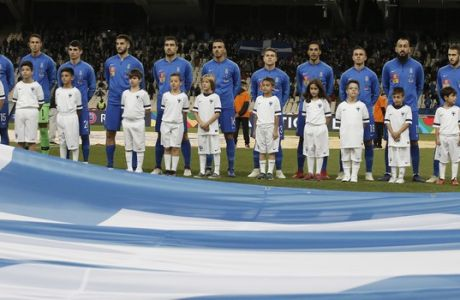 UEFA NATIONS LEAGUE / ΕΛΛΑΔΑ - ΦΙΝΛΑΝΔΙΑ (ΦΩΤΟΓΡΑΦΙΑ: ΜΑΡΚΟΣ  ΧΟΥΖΟΥΡΗΣ / EUROKINISSI)