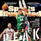 Ιπτάμενος και... εξώφυλλο στο Sports Illustrated o Giannis