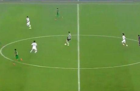 Τερματοφύλακας προσπάθησε να ντριμπλάρει όλη την ομάδα (VIDEO)