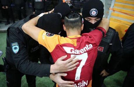 Η Γαλατάσαραϊ αφιέρωσε τη νίκη στην αστυνομία
