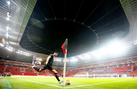 Ο Ναντιέμ Αμίρι της Λεβερκούζεν σε στιγμιότυπο της αναμέτρησης με τη Νις για τη φάση των ομίλων του Europa League 2020-2021 στην 'ΜπάιΑρένα', Λεβερκούζεν | Πέμπτη 22 Οκτωβρίου 2020