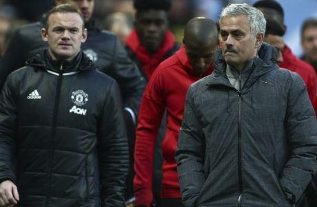 "Wayne Rooney: ""Δεν υπάρχει παίκτης που δεν θα παίξει για τον Μουρίνιο"""