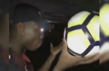 """""""Καλαματιανό"""" αλά Τζάκσον ο Πογκμπά με μια μπάλα στα χέρια!"""