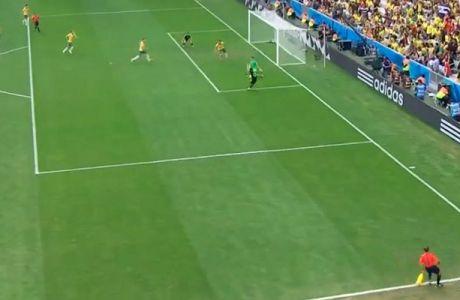 Και τρίτο γκολ για τους Ισπανούς από τον Μάτα