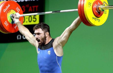 Σήκωσε 350 κιλά ο Ιακωβίδης