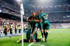 Οι παίκτες της Μπέτις πανηγυρίζουν το γκολ του Σανάμπρια (20/9/2017)
