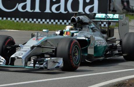 GP Καναδά (QF): Lewis και στο FP3