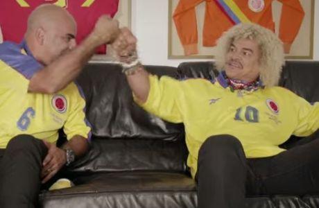 Με Βαλντεράμα, Χιγκίτα το τραγούδι της Κολομβίας για το Μουντιάλ (VIDEO)