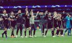 Οι παίκτες του Άγιαξ πανηγυρίζουν τη νίκη επί της Τότεναμ για τον 1ο ημιτελικό του Champions League 2018-2019 στο 'Τότεναμ Στέιντιουμ', Λονδίνο | Τρίτη 30 Απριλίου 2019