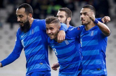 UEFA NATIONS LEAGUE / ΕΛΛΑΔΑ - ΦΙΝΛΑΝΔΙΑ (ΦΩΤΟΓΡΑΦΙΑ: ΘΑΝΑΣΗΣ ΔΗΜΟΠΟΥΛΟΣ / EUROKINISSI)
