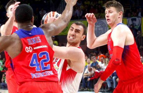 EUROLEAGUE / FINAL-4 2017 / ÏÓÖÐ - ÔÓÓÊÁ ÌÏÓ×ÁÓ / OLYMPIAKOS - CSKA MOSCOW (ÊÙÓÔÁÓ ÌÁÊÑÕÄÇÌÁÓ / Eurokinissi Sports)