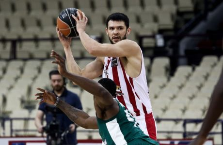 08/10/2017 Olympiacos Vs Panathinaikos for Basketleague season 2017-18, in SEF Stadium in Piraeus- Greece Photo by: Andreas Papakonstantinou / Tourette Photography