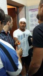 Παίκτης έφαγε σφαίρα στο κεφάλι από αστυνομικό!