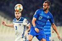 ΠΡΟΚΡΙΜΑΤΙΚΑ EURO 2020 / ΕΛΛΑΔΑ - ΒΟΣΝΙΑ (ΦΩΤΟΓΡΑΦΙΑ: ΜΙΧΑΛΗΣ ΚΑΡΑΓΙΑΝΝΗΣ / EUROKINISSI)