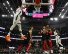 Milwaukee Bucks' Giannis Antetokounmpo shoots during the first half of an NBA basketball game against the Chicago Bulls Wednesday, Nov. 28, 2018, in Milwaukee. (AP Photo/Morry Gash)