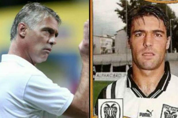 /></figure>    <p>Στα 18 του χρόνια αποκτήθηκε από τον Ολυμπιακό, όπου με προπονητή τον Αλκέτα Παναγούλια αγωνίστηκε στο πρώτο μισό της περιόδου 1987–88. Στη συνέχεια πέρασε από Απόλλωνα Καλαμαριάς, Τρίκαλα και Πανσερραϊκό και το καλοκαίρι του 1992 αποκτήθηκε από τον ΠΑΟΚ, στον οποίο αγωνίστηκε για τα επόμενα 4μιση χρόνια, μέχρι το πρώτο μισό της περιόδου 1996–97.</p>    <p>Κατέγραψε 118 εμφανίσεις στο πρωτάθλημα με τον «Δικέφαλο του Βορρά» ενώ πέτυχε και 5 τέρματα. Μετά τον ΠΑΟΚ ήρθε στην Ξάνθη, όπου σε τρεις σεζόν κατέγραψε 102 συμμετοχές και 4 γκολ. Στον ΠΑΟΚ πήγε στις αρχές της δεκαετίας του 2000 και ως προπονητής</p>    <h2><strong>Λουτσιάνο Ντε Σόουζα</strong></h2>    <figure class=