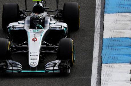 GP Γερμανίας (FP2): Rosberg ξανά με 1-2 της Mercedes