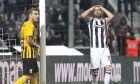 Ο Χοσέ Κρέσπο του ΠΑΟΚ εμφανώς απογοητευμένος στο ντέρμπι με τον Άρη για τη Super League 1 στην Τούμπα, Κυριακή 22 Σεπτεμβρίου 2019