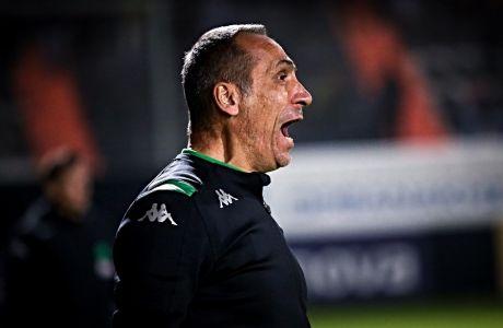 O Γιώργος Δώνης σε προηγούμενο ματς μεταξύ ΟΦΗ και Παναθηναϊκού για τη σεζόν 2019-20