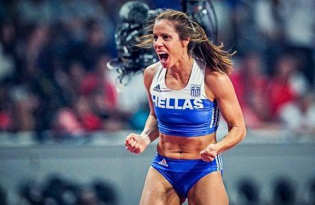 Η Κατερίνα Στεφανίδη στο Παγκόσμιο Πρωτάθλημα της Ντόχα