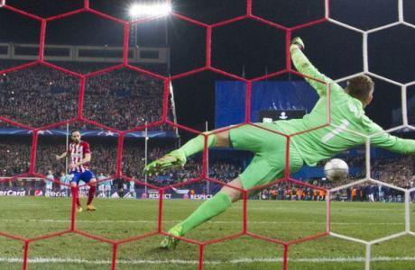 Ατλέτικο Μαδρίτης-Αϊντχόφεν 0-0 (8-7 πεν)