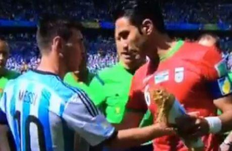 """""""Μέσι, όταν τελειώσει το ματς θέλω τη φανέλα σου"""""""
