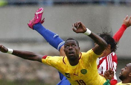 Χαμένο πέναλτι και φιλική ήττα για Καμερούν