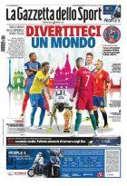 """Τα έξι αστέρια που επέλεξε η """"Gazzetta dello Sport"""" για το... καλωσόρισμα στο Μουντιάλ"""