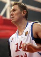 Ο Αλεξέι Ζεβροσένκο με το νο 14 της ΤΣΣΚΑ