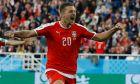 Ο Σεργκέι Μιλίνκοβιτς Σάβιτς της Σερβίας πανηγυρίζει γκολ κόντρα στην Ελβετία για τη φάση των ομίλων του Παγκοσμίου Κυπέλλου 2018 στην 'Αρένα Μπάλτικα', Καλίνινγκραντ | Παρασκευή 22 Ιουνίου 2018