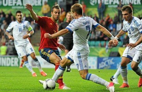 Ελλάδα-Ισπανία 0-1