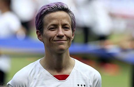 Η Μέγκαν Ραπίνο κατέκτησε το Παγκόσμιο Κύπελλο γυναικών στο ποδόσφαιρο με τη φανέλα των Η.Π.Α. και αποτελεί ένα από τα πιο ισχυρά ονόματα-brands στο σύγχρονο αθλητικό στερέωμα