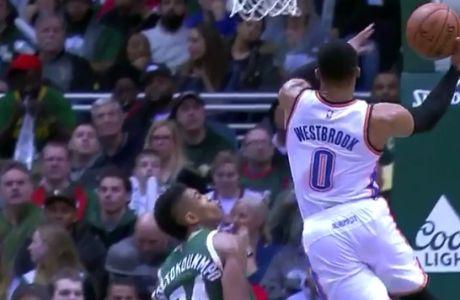 """""""Στάση"""" Giannis για τον Westbrook!"""
