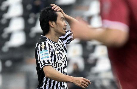 Ο Σίντζι Καγκάβα μπήκε για να βοηθήσει τον ΠΑΟΚ, αλλά το 2-2 με τον Απόλλωνα στην Τούμπα τού στέρησε ένα νικηφόρο ντεμπούτο στο πρωτάθλημα