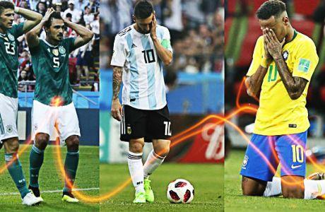 Τι Μουντιάλ είναι αυτό χωρίς Βραζιλία, Αργεντινή και Γερμανία; Μοναδικό!