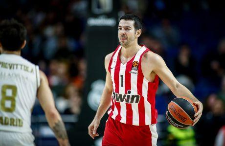 Ο Τέιλορ Ρότσεστι ήταν από τους λίγους παίκτες του Ολυμπιακού που ξεχώρισαν στη Μαδρίτη